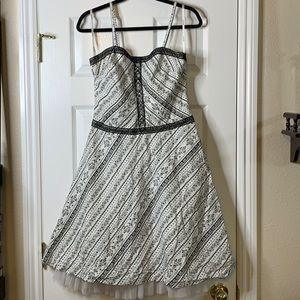 My Michelle Layered Midi Dress